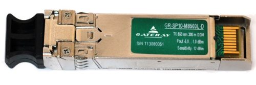 GATERAY GR-SP10-M8503L-D SFP + Модуль - 10G, 300 М, TX / RX 850 НМ, LC, DDM