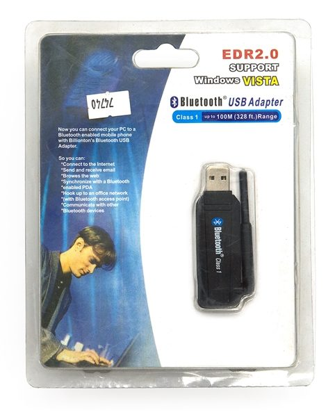 Адаптер Bleutooth Intex ITBT-USB100A