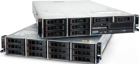 Сервер IBM x3630 M4 6C E5-2440 95W 2.4GHz 2x 8GB O/Bay HS 3.5in SATA SR M5110 750W Rack 3Y/48h CS