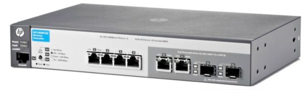 Контроллер HP MSM720 Access Controller 4xGE + 2xGE-T/SFP, 10 AP (up to 40), LT warr