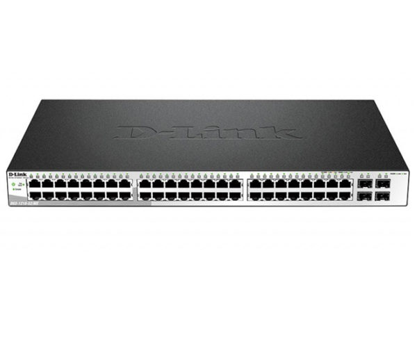 Коммутатор D-Link DGS-1210-52 48Port Gbit, 4SFP, Smart