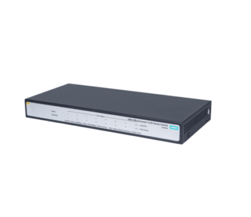 Коммутатор HPE 1420-8G-PoE+ Unmanaged Switch, 8xGE-T, L2, 64W, LT Warranty