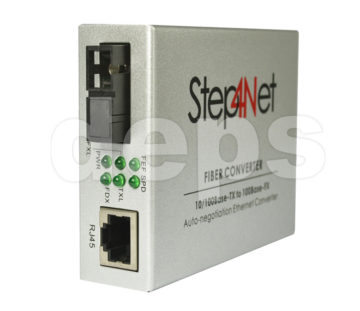 Медіаконвертер Step4Net 100Mb 1xSM 1310nm 20км (MC-D-0,1-1SM-1310nm-20)