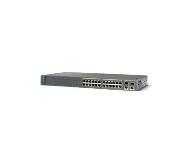 Коммутатоp Cisco Catalyst 2960 Plus 24 10/100 + 2T/SFP LAN Base