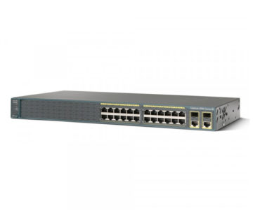 Комутатор Cisco Catalyst 2960 Plus 24 10/100 (8 PoE) + 2 T / SFP LAN Base