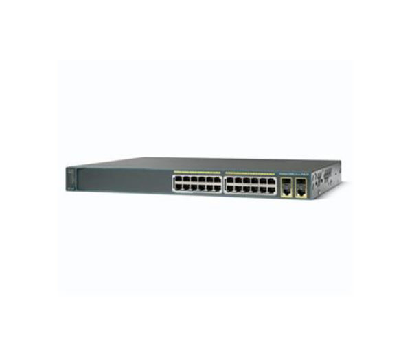 Комутатор Cisco Catalyst 2960 Plus 24 10/100 PoE + 2 T / SFP LAN Lite