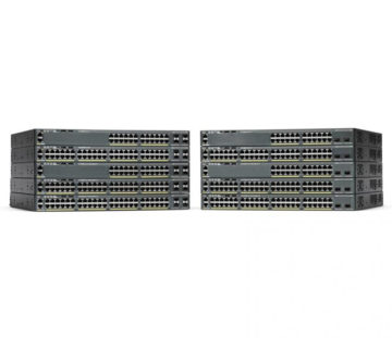 Комутатор Cisco Catalyst 2960-X 24 GigE 2 x 10G SFP + LAN Base