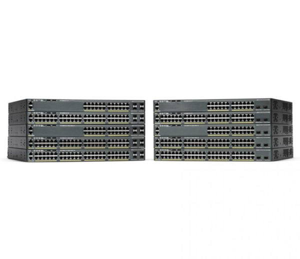Коммутатор Cisco Catalyst 2960-X 24 GigE 2 x 10G SFP+ LAN Base