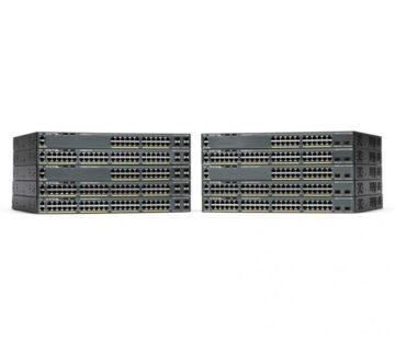 Комутатор Cisco Catalyst 2960-X 48 GigE PoE 370W, 4 x 1G SFP, LAN Base