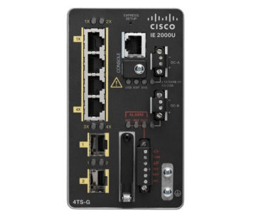 Комутатор Cisco IE 4 10 / 100,2 SFP Gig port, Base REMANUFACTURED