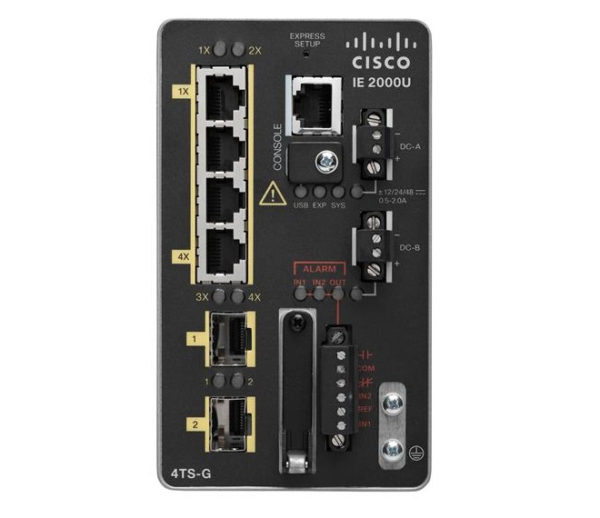 Коммутатор Cisco IE 4 10/100,2 SFP Gig port, Base REMANUFACTURED
