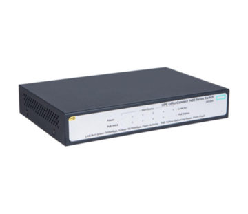 Коммутатор HPE 1420-5G-PoE+ Unmanaged Switch, 5xGE-T, L2, 32W, LT Warranty