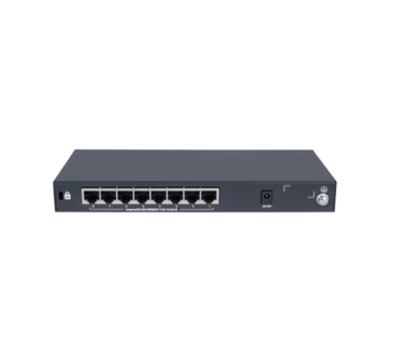 Комутатор HPE 1420-8G-PoE + Unmanaged Switch, 8xGE-T, L2, 64W, LT Warranty