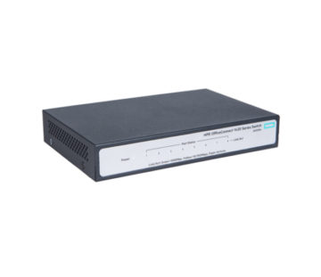 Комутатор HPE 1420 8G Switch, Unmanaged, 8xGE ports, L2, LT Warranty