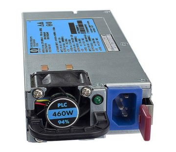 Блок питания HP Enterprise DL180/320/360/380/ ML350/370 G6 460W hot-pl RPS