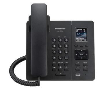 Беспроводной IP-DECT телефон Panasonic KX-TPA65RUB Black, для KX-TGP600RUB