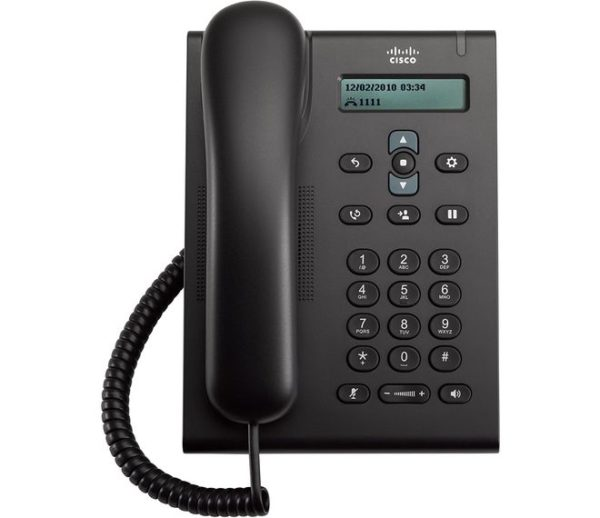 Проводной IP-телефон Cisco UC Phone 3905 SIP Charcoal, Standard Handset
